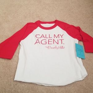 Call My Agent raglan. Size 4t. NWT
